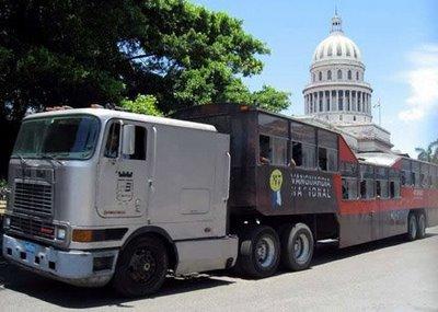 キューバのらくだバス10