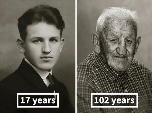 100歳越えの人の若い頃08