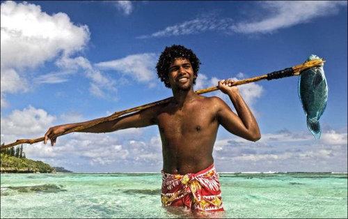 ニューカレドニアのモリ漁04