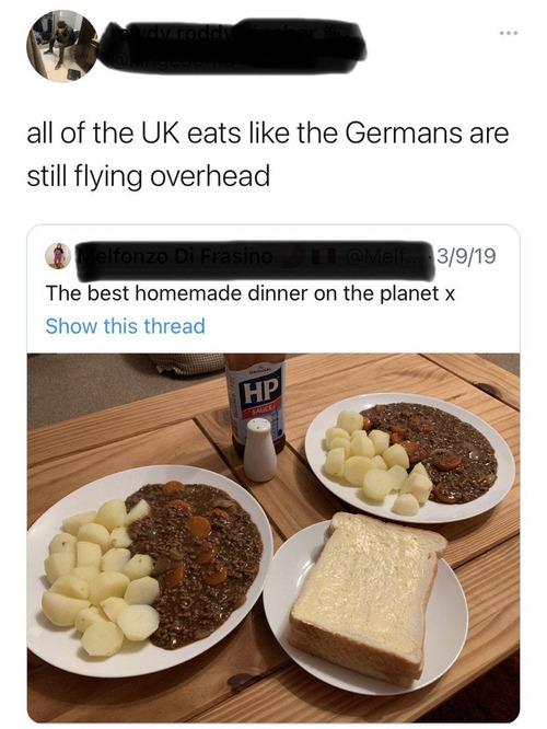やっぱりイギリスの食事はまずそう01