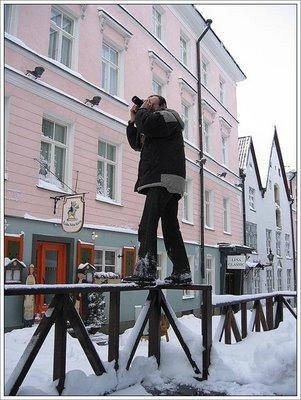 写真を撮られるカメラマン011