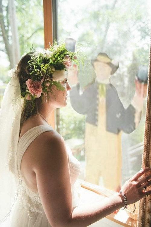 妹の結婚式の写真に亡くなった母が登場した03