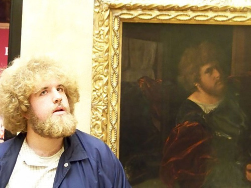 美術館に自分のそっくりな絵05