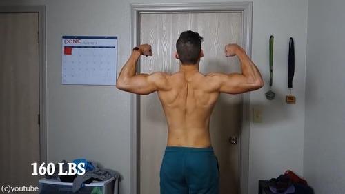 男性の3か月のダイエット動画08