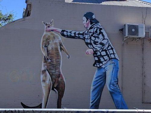 オーストラリアの落書き02