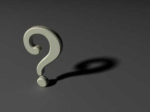 未回答のままのほうがよい質問