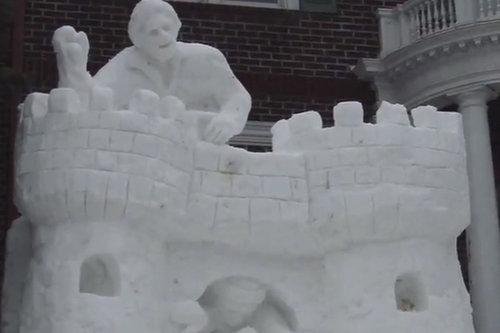 ミネソタ州の雪だるま06