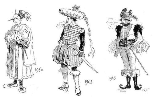 19世紀に想像した20世紀のファッション17