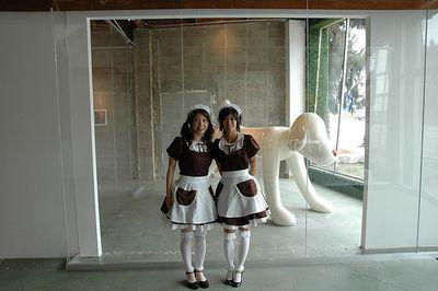 ロサンゼルスのメイド喫茶09