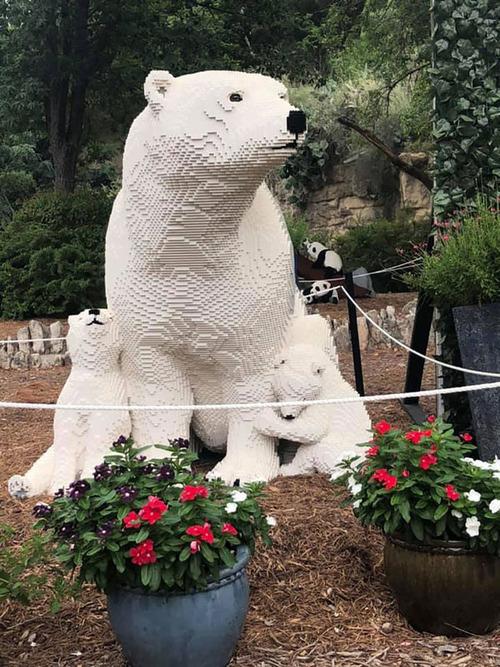 サンアントニオ動物園がレゴの動物を展示03