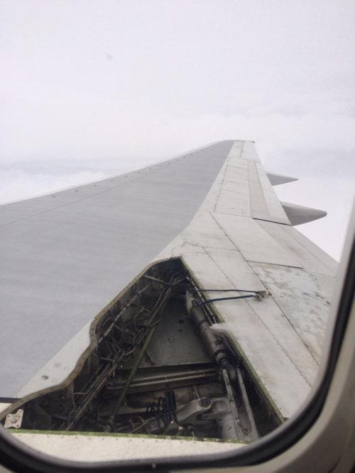 飛行機で怖い体験01