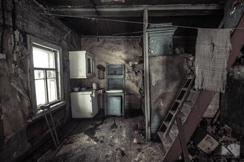 ロシアの廃村20