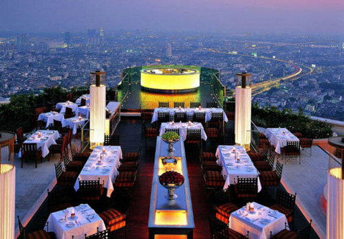 世界の絶景レストラン21
