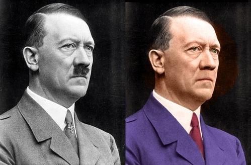 ヒトラーからヒゲを取ったら。