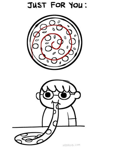 ピザの切り方03