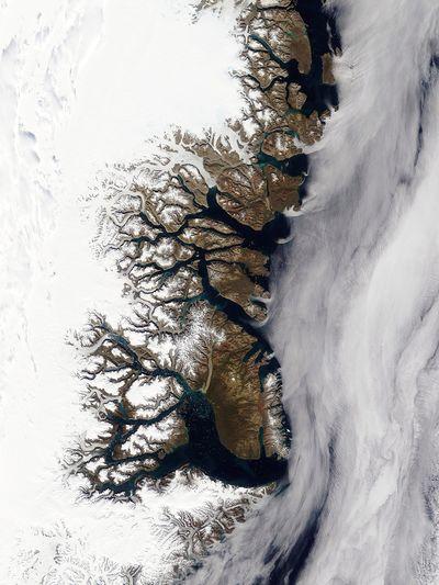 グリーンランドの西海岸(2003年8月21日)