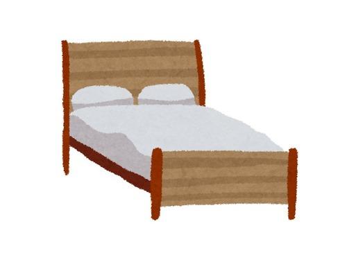 ベッドが強風で吹き上げられてしまった件00