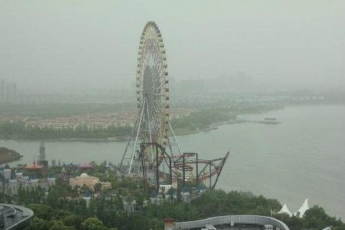 大気汚染で中国の監視カメラが無駄に05