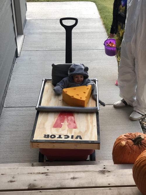 ハロウィンで子どもが訪問してきた01