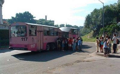 キューバのらくだバス11
