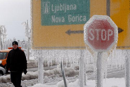 スロベニアの大寒波 001