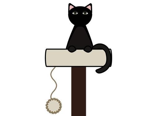 猫が足を伸ばしながらくしゃみ