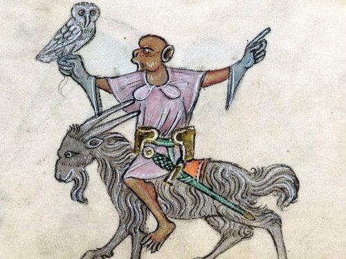 中世の本の挿絵07