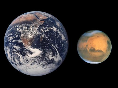 最もクリアーな火星の画像00