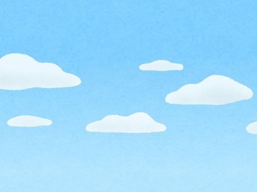 魔法のような渦巻き雲