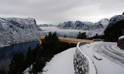 ノルウェーの展望台07
