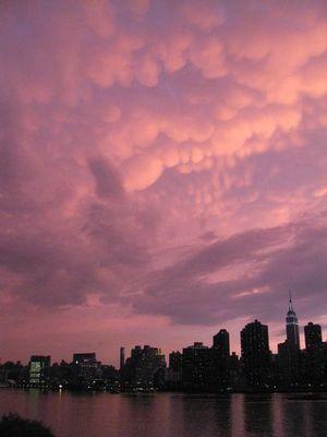 ニューヨークの空を埋め尽くした乳房雲11