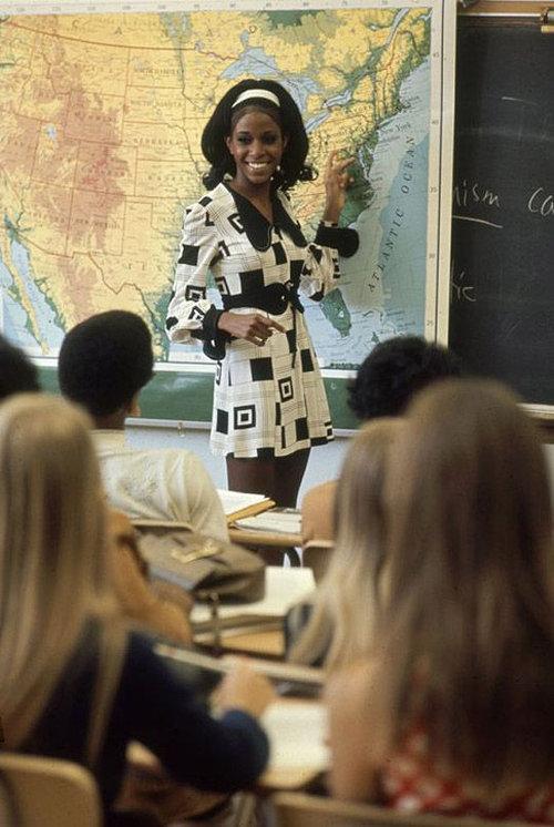 40年前のアメリカの女子高生ファッション13