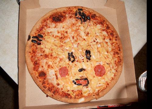 ピザのデリバリーの絵18