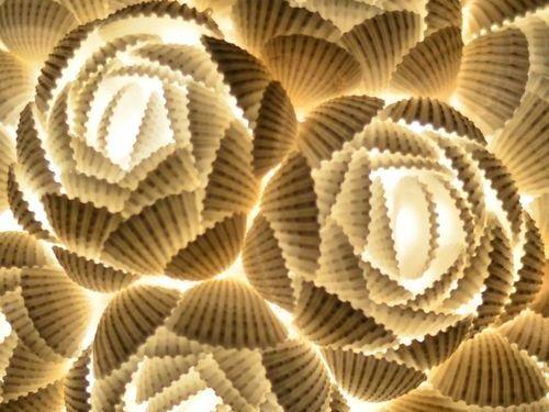 貝殻のランプ02