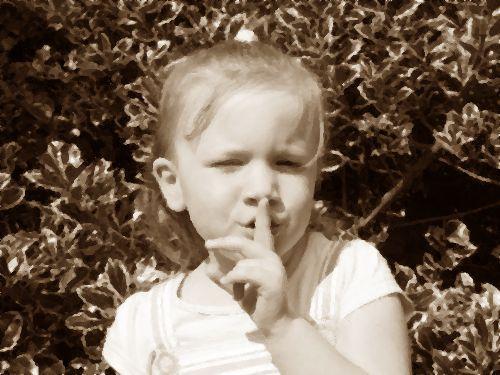 話せない秘密