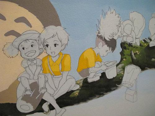 子供部屋に描いたジブリ04