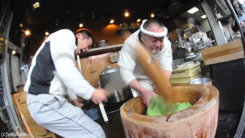 日本の餅つき04