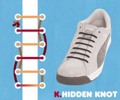 靴ひも・結び方11