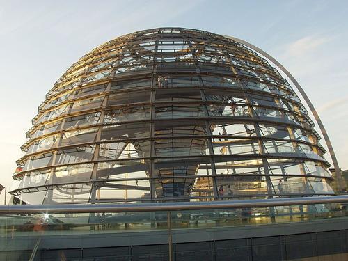 ドイツの国会議事堂01