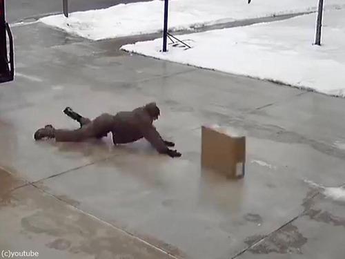 凍り付いた日の宅配業者のスキル03
