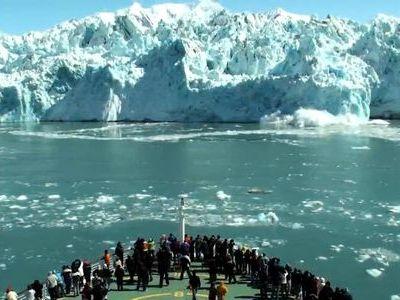 氷河の旅を一分半で