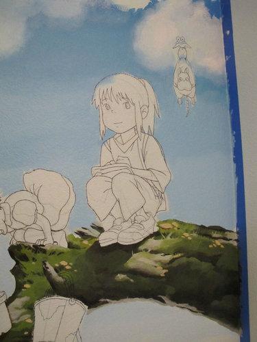 子供部屋に描いたジブリ05