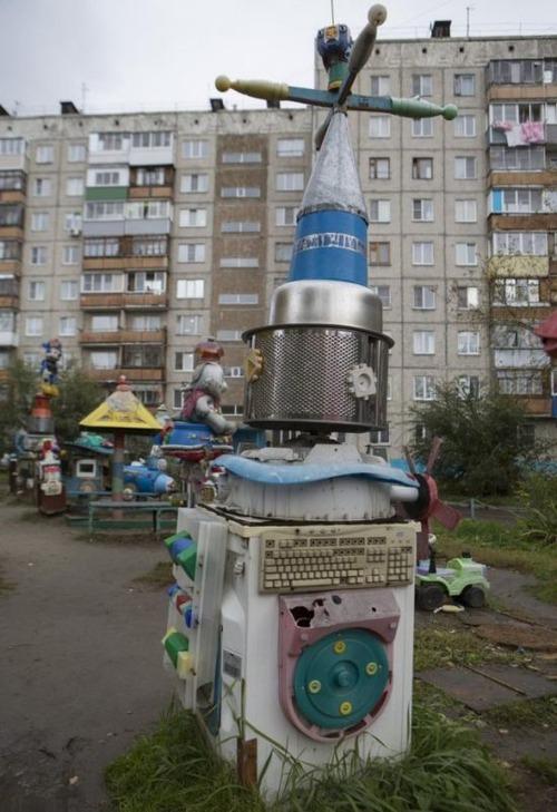 ロシアの遊具、手作り編02