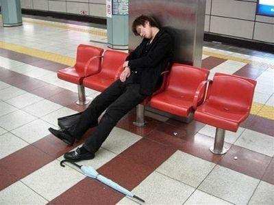 眠たい日本人18