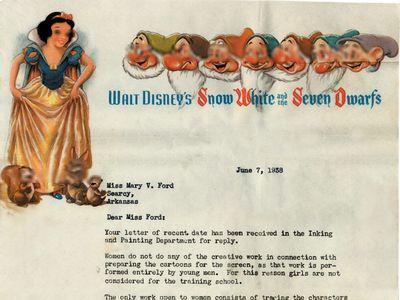 ディズニーからの手紙