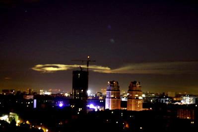 モスクワ上空の飛行物体09