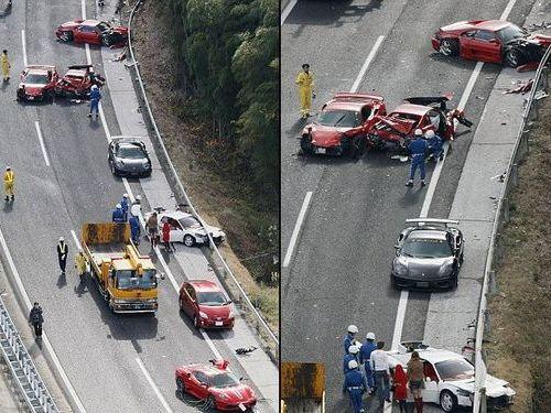 フェラーリ事故