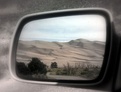 サイドミラーの景色09