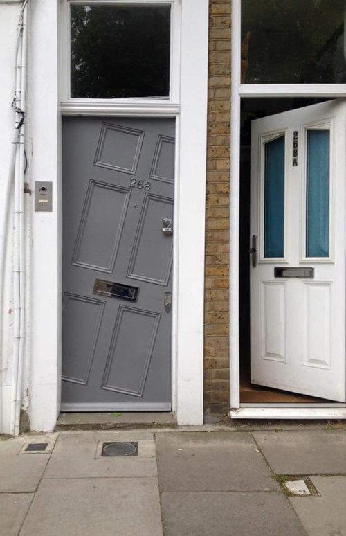 ロンドンで見かけたドア01