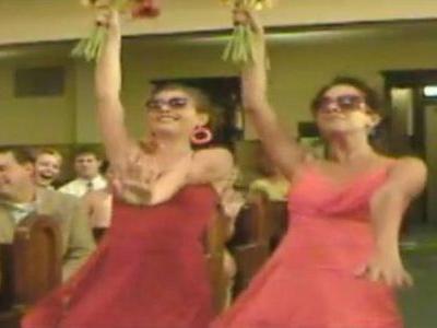 こんな結婚式の登場のしかた